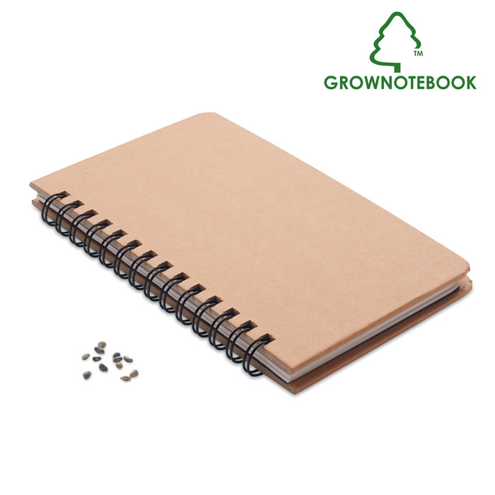 Pine tree notebook