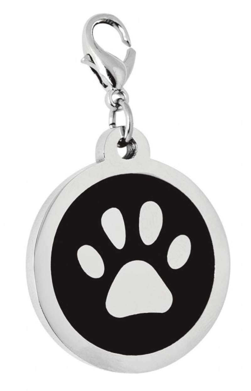 PENDANT STEEL BLACK PAW - d=30 mm