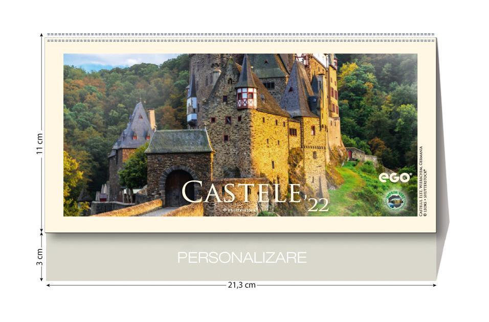 Calendar de birou CASTELE