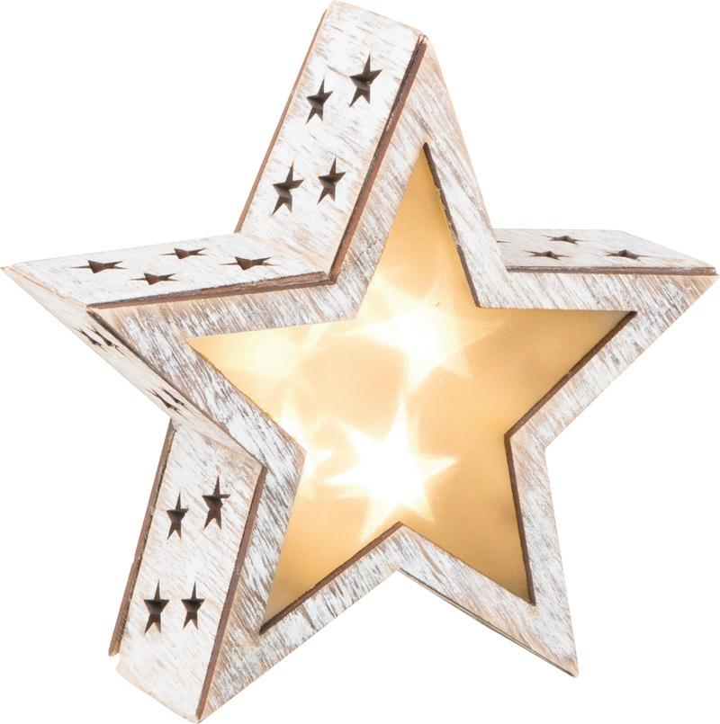 Shabby Chic Star Lantern, small