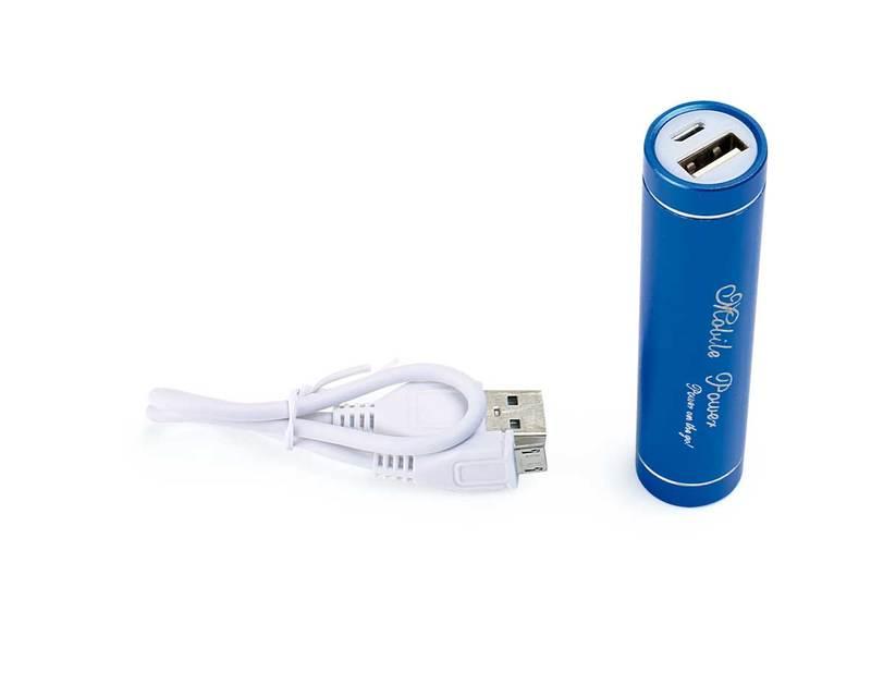 External Battery Blue, 2000 mAh