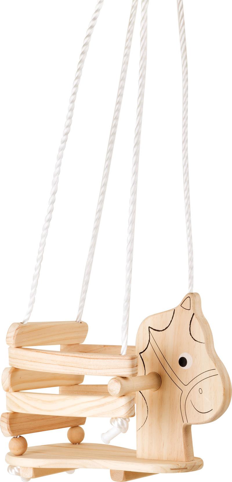 Wooden Children?s Swing Horse