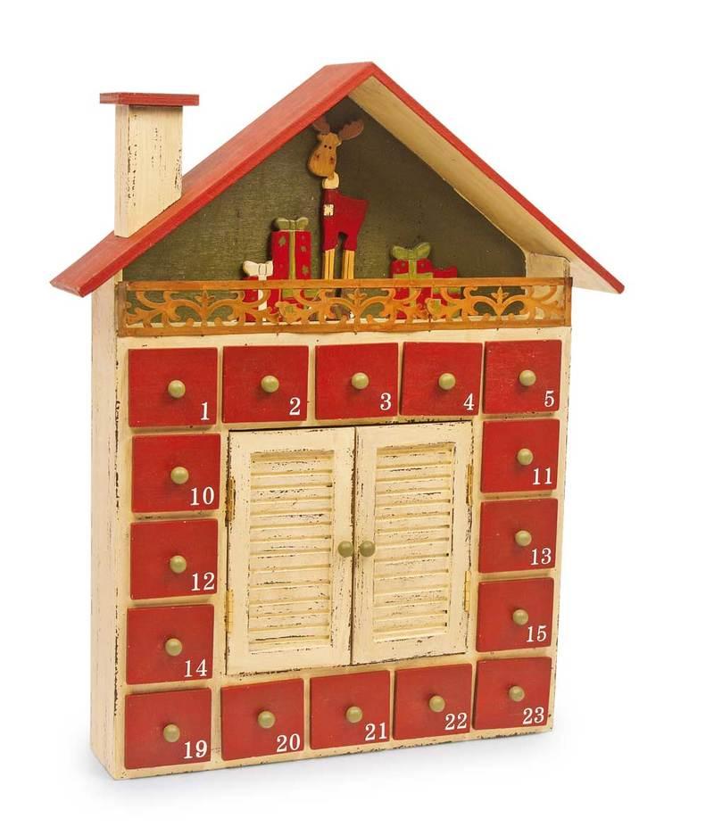Winter Cottage Advent Calendar