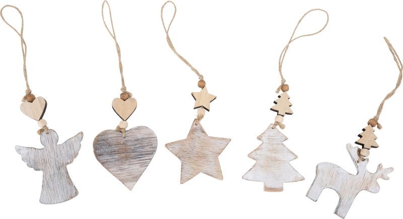 Shabby Chic Christmas Decorations