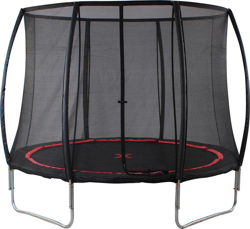 Trampoline with Safety Net  Black Spider