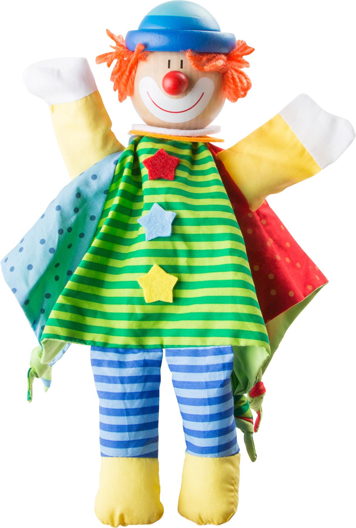 Clown Hand Puppet