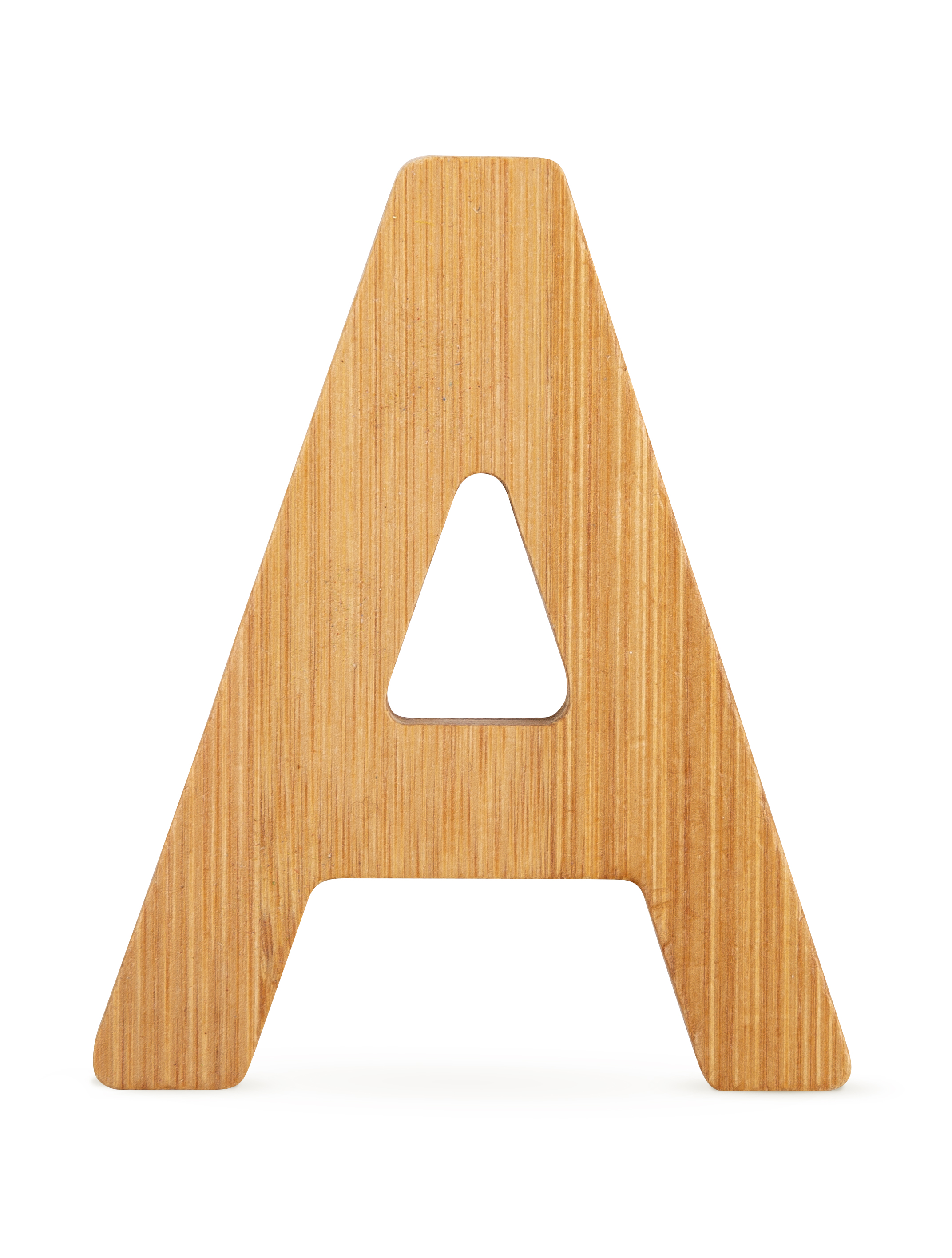 ABC Bamboo Letters A