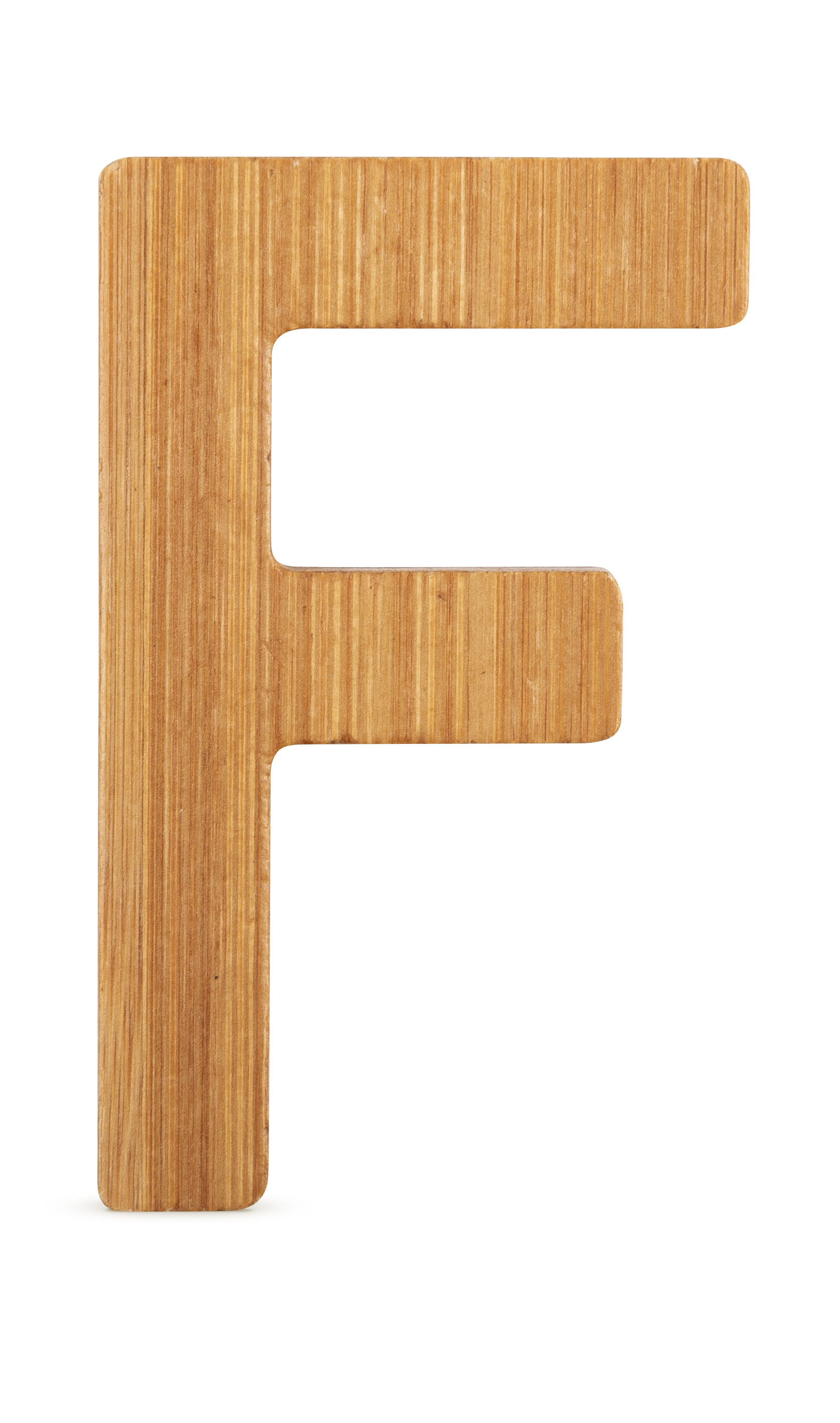 ABC Bamboo Letters F
