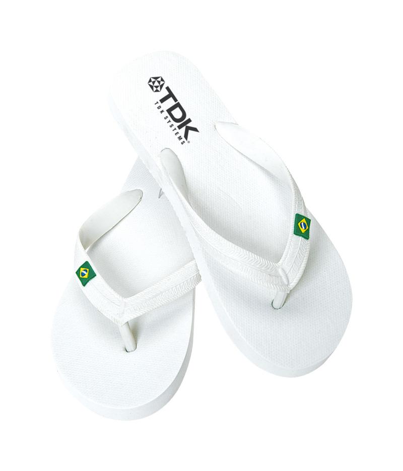 Brasileira beach slippers