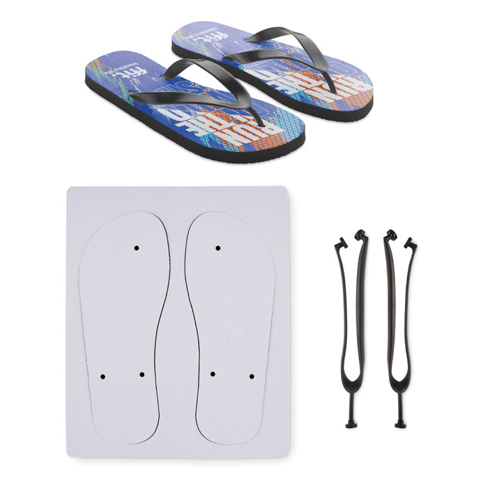 Sublimation beach slippers XL