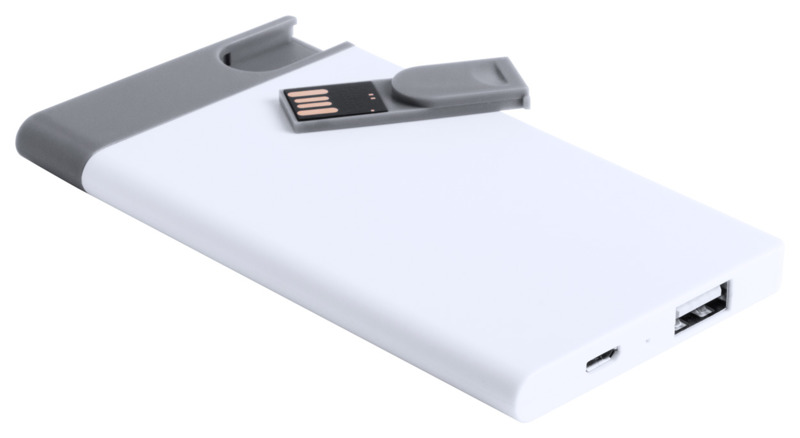 Spencer USB power bank and flash drive