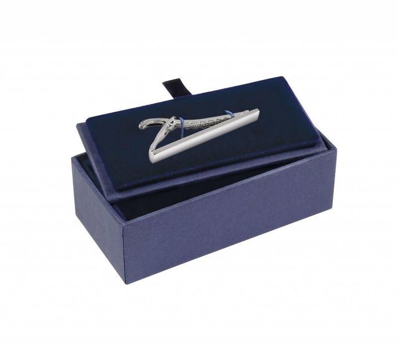 BOX BLU 80X40X28 MM - PER FERMACRAVATTA