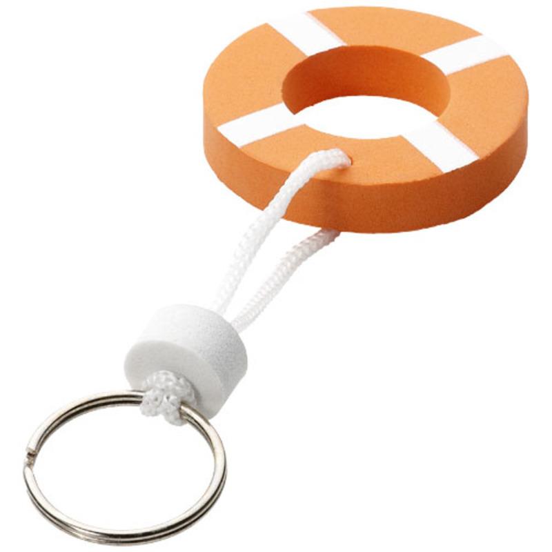 Lifesaver floating keychain
