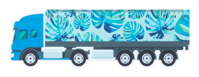 Trucker 15 15 cm ruler, truck