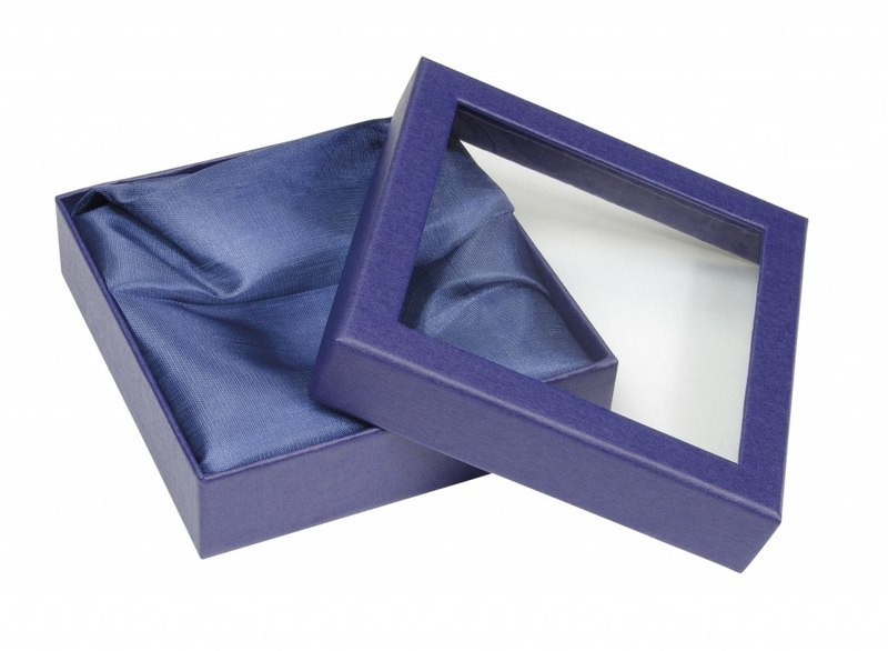 BLUE BOX WITH WINDOW X 56042