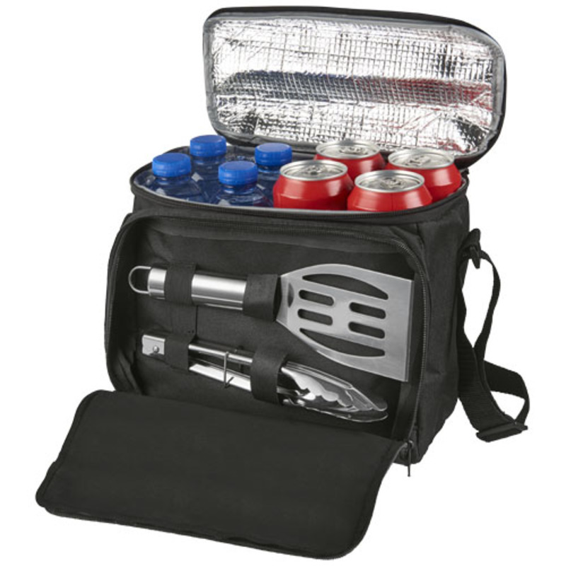 Mill 2-piece BBQ set with cooler bag