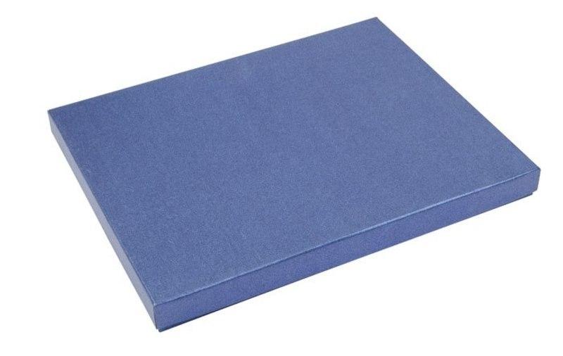 CARDBOARD BOX BLUE 200x250 MM
