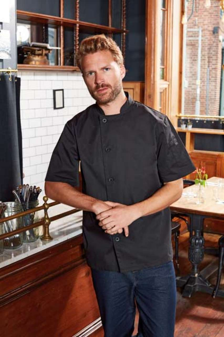 'ESSENTIAL' SHORT SLEEVE CHEF'S JACKET