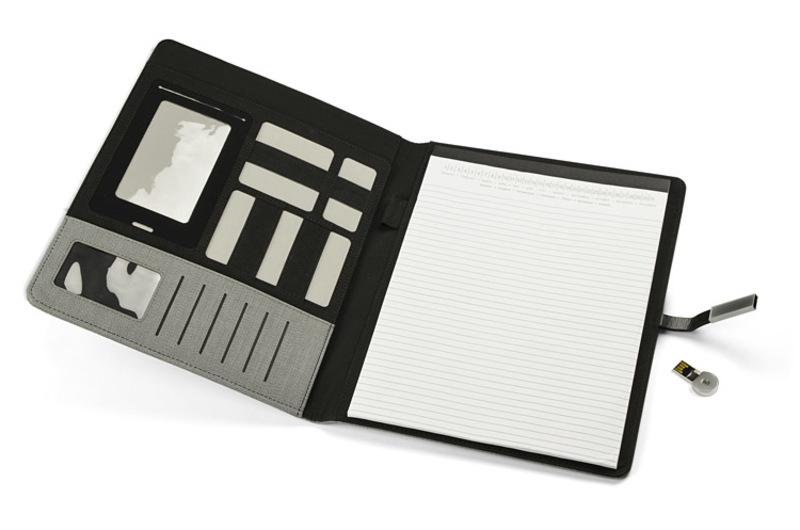 Portfolio CUMBRIA with USB flash drive 8GB A4