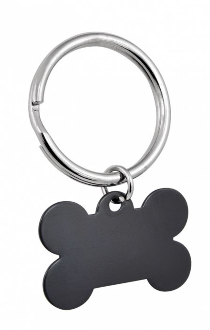 PENDANT BLACK BONE - 25x38 mm