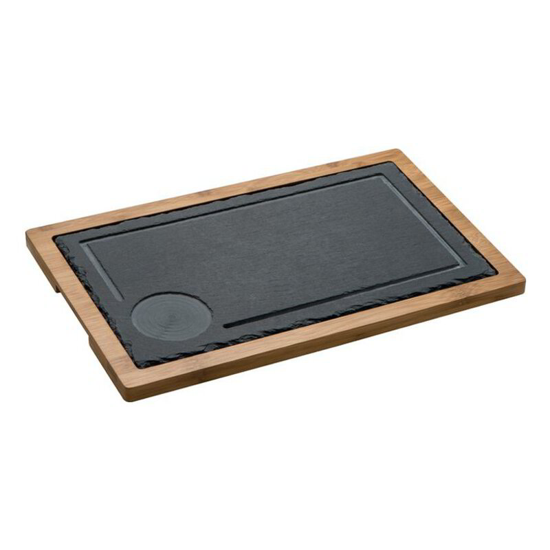 Serving Board, slate/wood