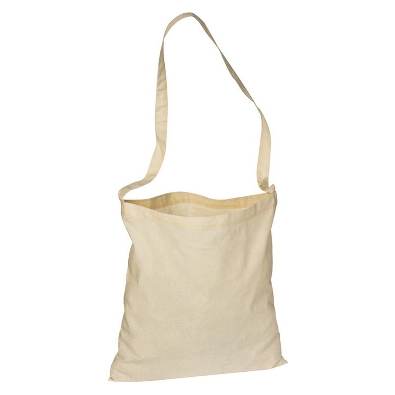 Cotton bag with long handle