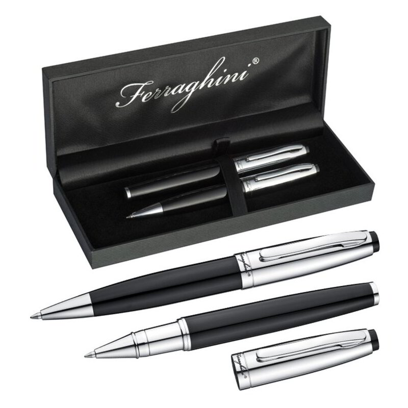 Ferraghini writing set with a ball pen
