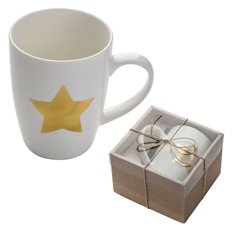 Cup with star print
