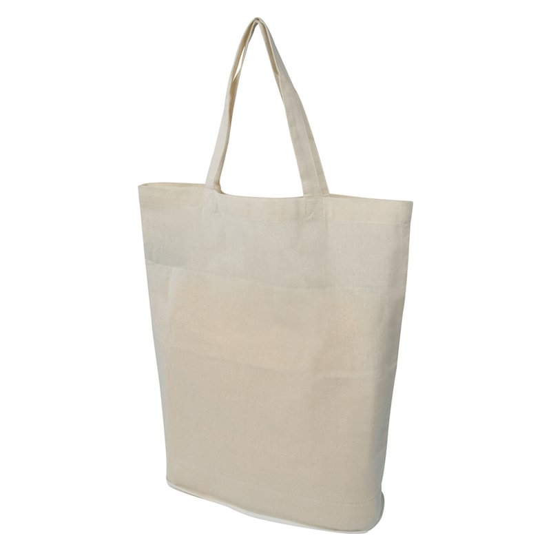 Foldable shoppingbag in cotton