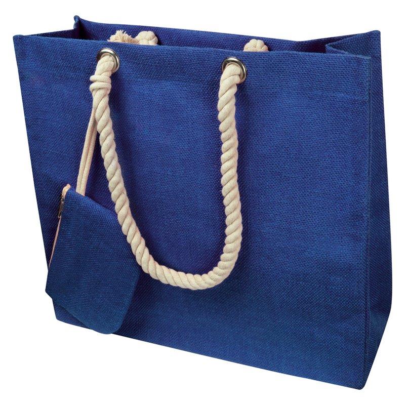 Jute bag with drawstring