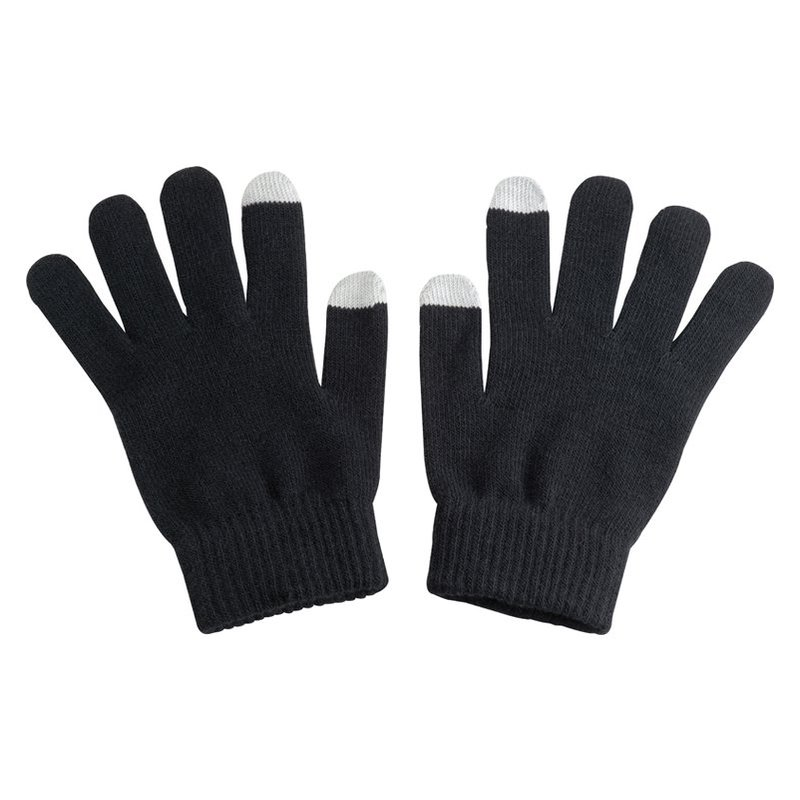 Acrylic gloves with touch tops