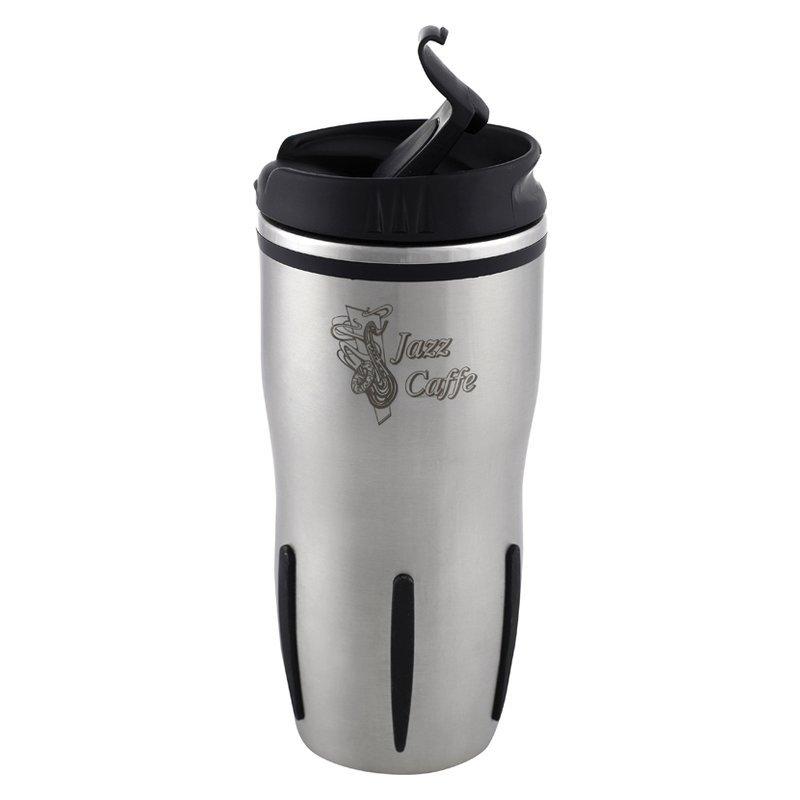 Leakproof insulated travel mug