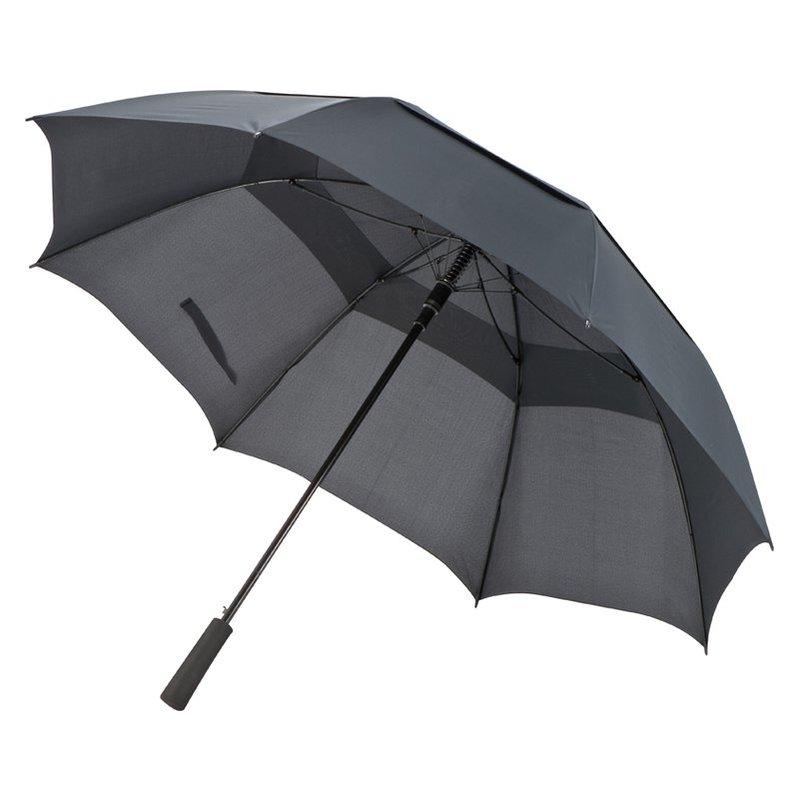 Golf umbrella with windscreen