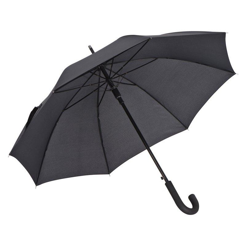 Umbrella with aluminum shaft