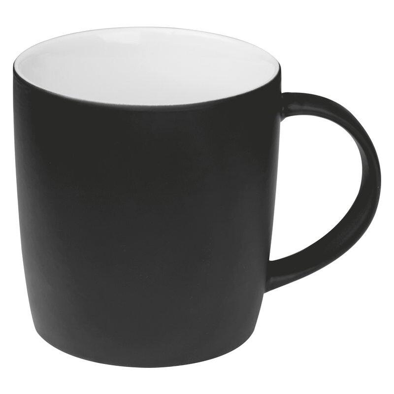 Rubberized ceramic mug
