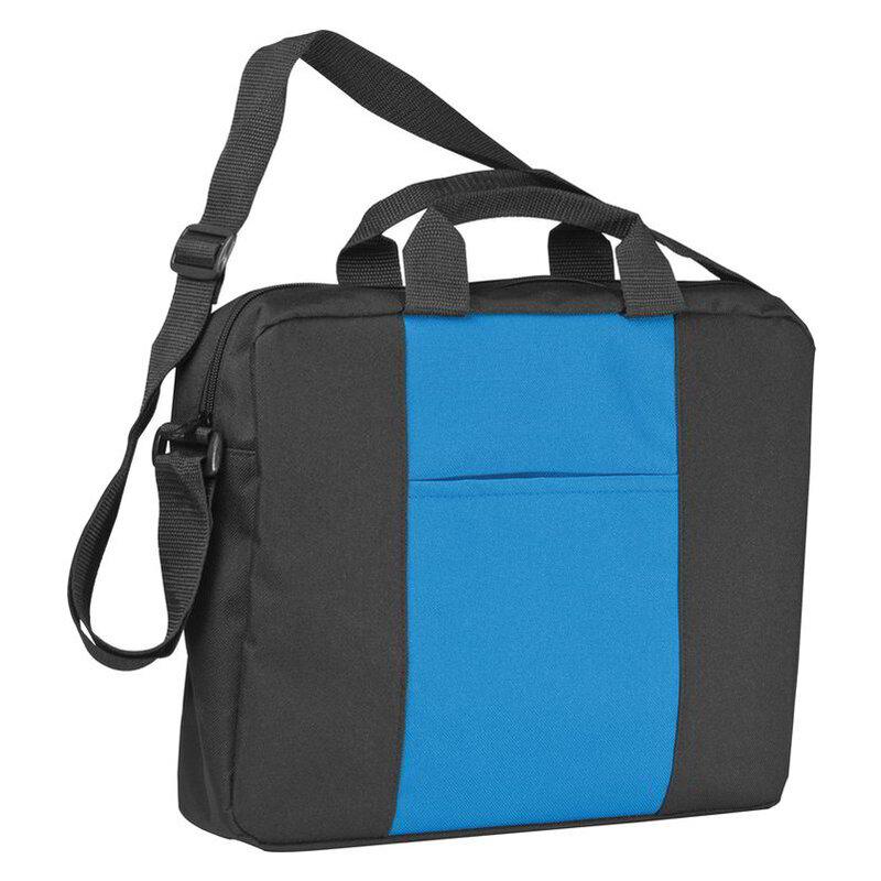 Shoulder bag with a broad stripe