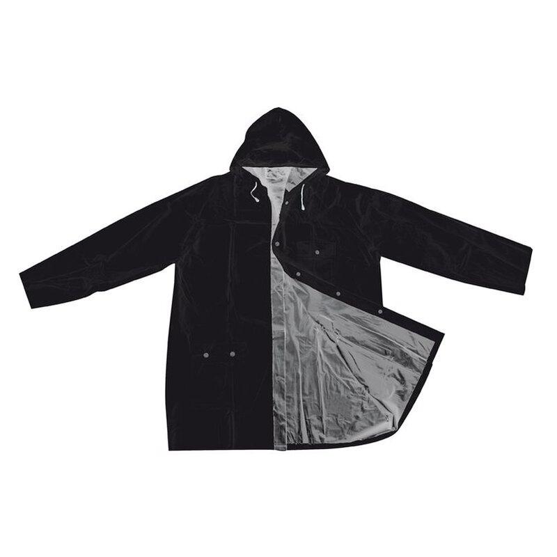 Bicolour reversible raincoat, PVC,XL