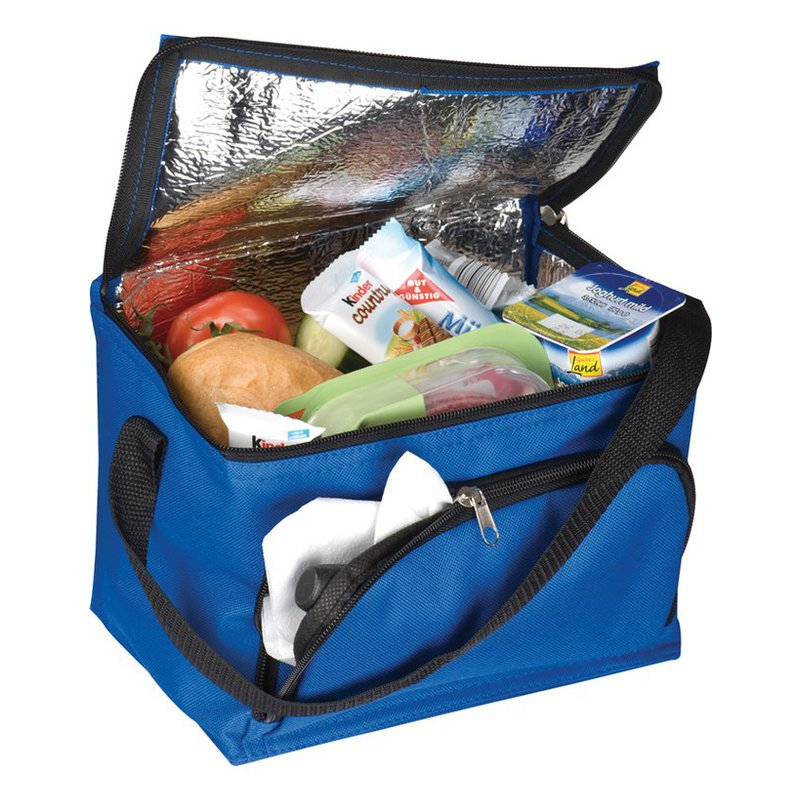 Cooler bag with front compart.
