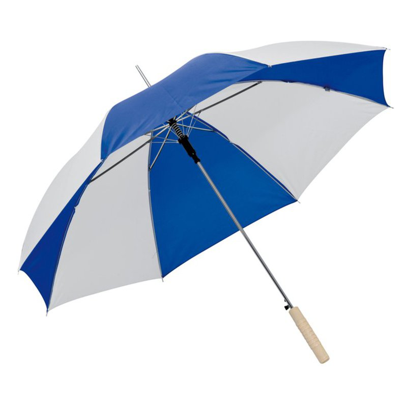Bicoloured automatic umbrella
