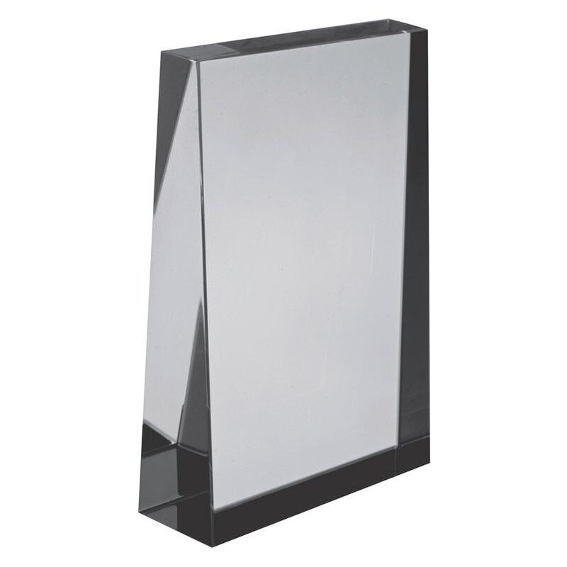 Small rectangular glass block
