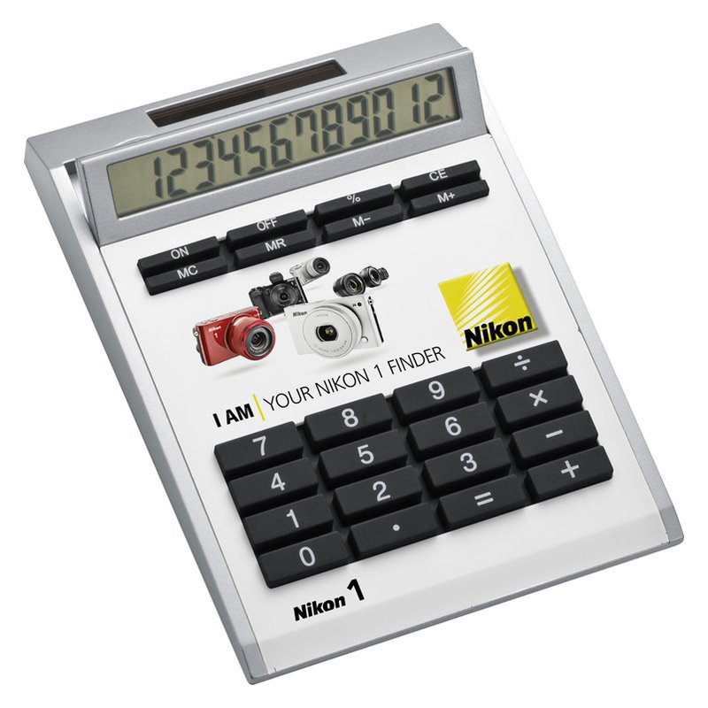 Own-design desk calculator