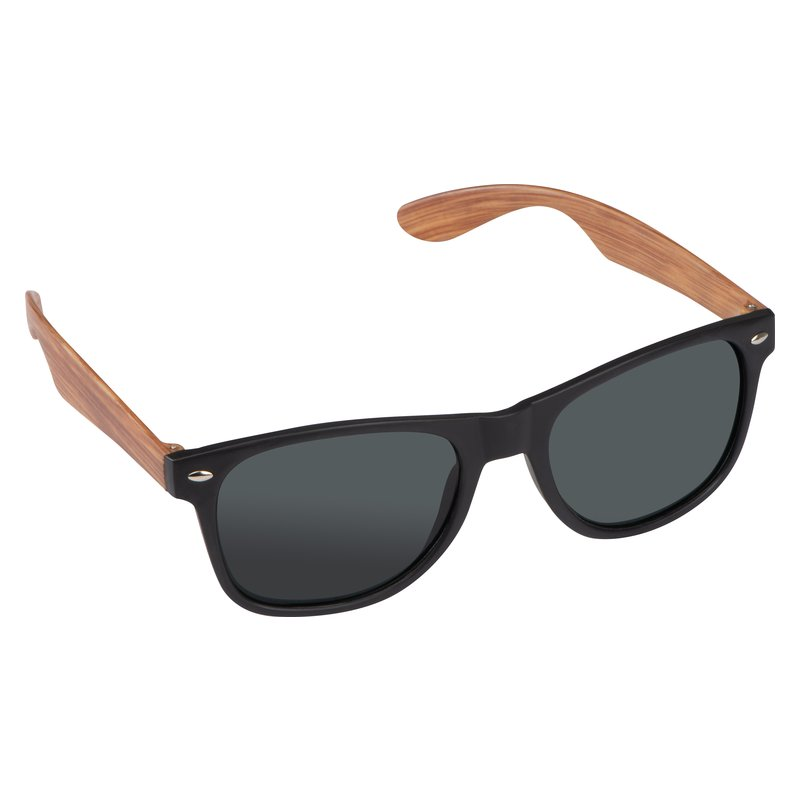 Sunglasses wooden-look temples
