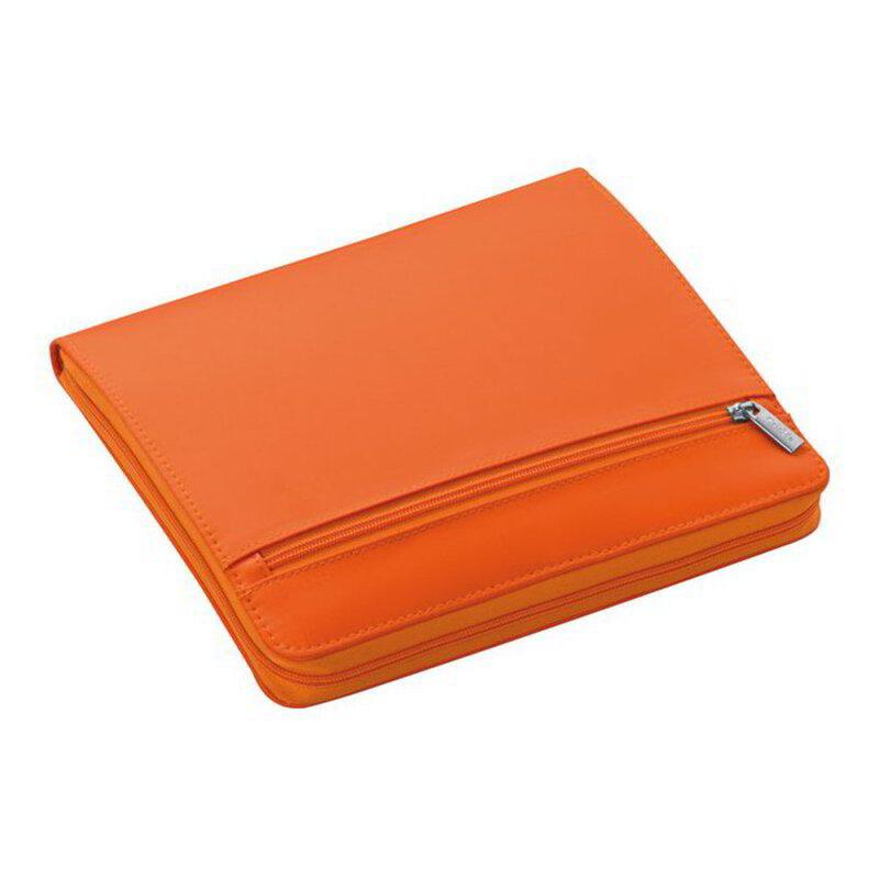 Nylon writing case with zipper