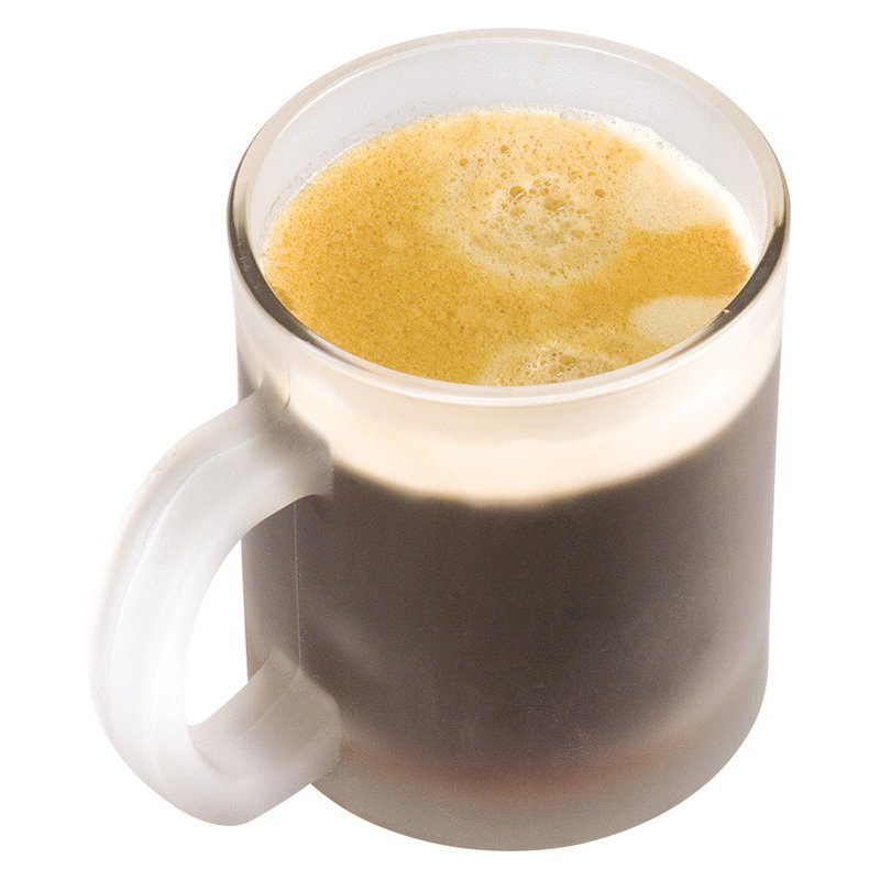 Coffeemug, transparent frosted