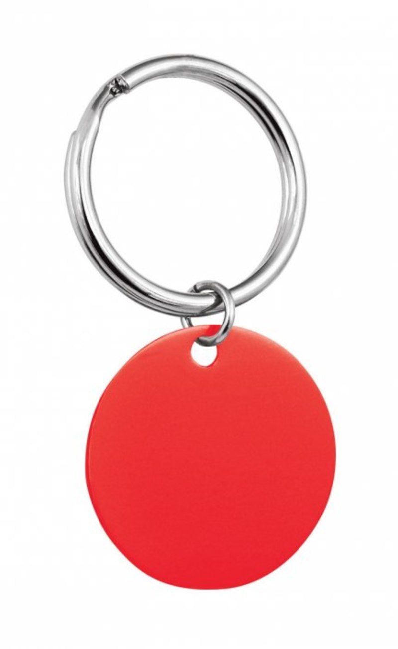 PENDANT ROUND RED - D=32 mm