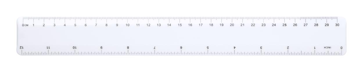 Nitria anti-bacterial ruler