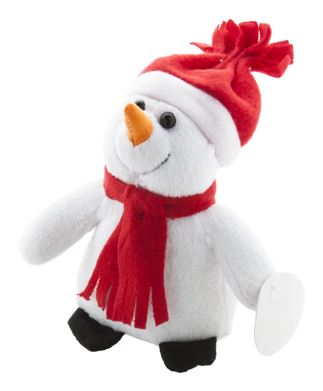 Lumiukko plush snowman