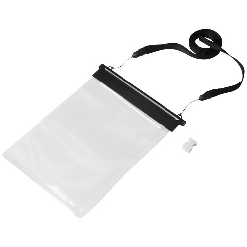 Splash waterproof mini tablet touchscreen pouch