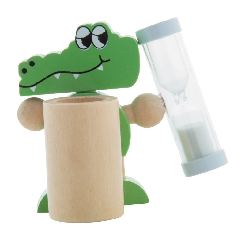 Crocky toothbrush holder