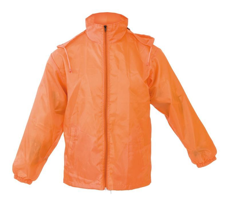 Grid raincoat